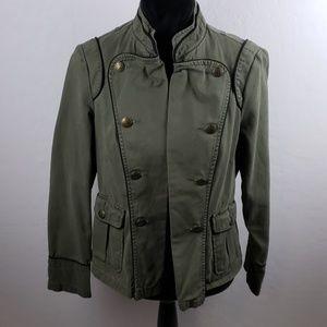 A.N.A. Dark Green Military Style Blazer
